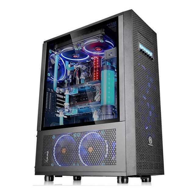 Корпус Thermaltake Core X71 TG, CA-1F8-00M1WN-02